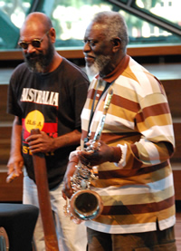 Pharoah Sanders & Joe Geia