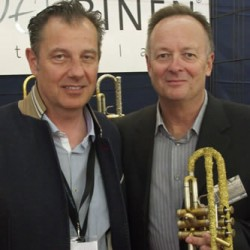 David Temby with Thomas Inderbinden