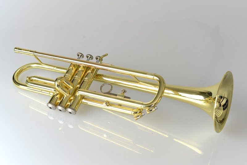 Temby Signature Trumpet - Gold Lacquer