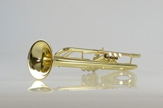 Temby Prestige Trumpet - Gold Lacquer