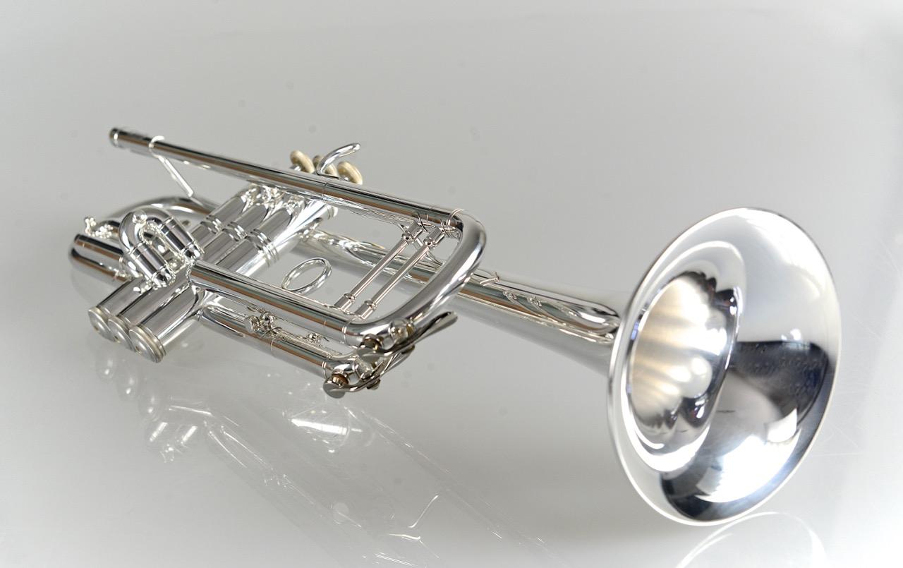 Temby Prestige Trumpet - Silver
