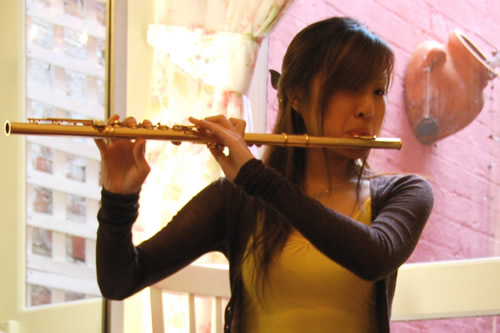 Temby Artist Flute